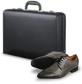Bried case and shoes